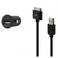 Belkin Micro Auto Charger for iPhone 3G, 3GS, 4, 4S (Кабель в комплекте)